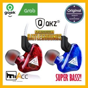 HEADSET QKZ CK5 SUPER BASS GAMING PUBG SPORT Lari Jogging Model In-ear