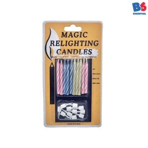 Lilin Anti Mati - Magic Relighting Candle 10pcs | 1220