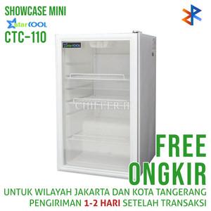 Showcase Starcool CTC-110 Liter Display Cooler Free Ongkir