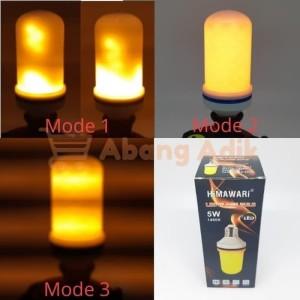 Lampu Bohlam Cahaya LED Api Flame Effect Mitsuyama MS-8207A MS8207A