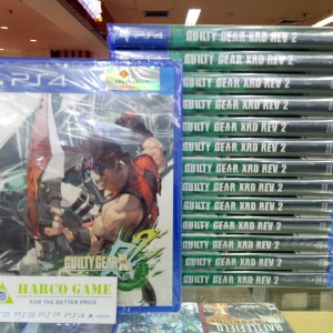 BD PS4 GUILTY GEAR XRD REV 2 REGION 3 ASIA ENGLISH