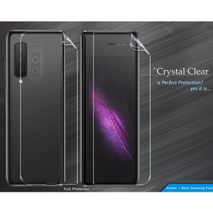 Crystal Clear CC Back Cover & Screen Protector Samsung Galaxy Fold