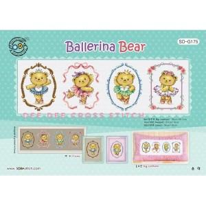 Paket Kristik Original / Asli Soda So-G175 Ballerina Bear