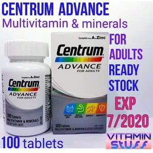 Centrum Advance For Adults 100 Tablet