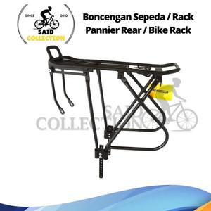 Boncengan Sepeda / Rack Pannier Rear / Bike Rack Asli United 100%