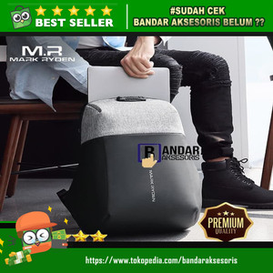 RANSEL/BACKPACK MARK RYDEN MR6768 ANTI-THEFT WITH USB CHARGING DESIGN