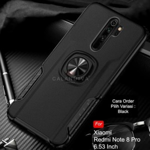 XIAOMI REDMI NOTE 8 / NOTE 8 PRO HYBRID CASE RING STAND COVER