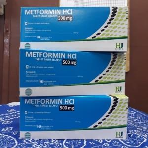 Obat Diabetes Generik 500mg Box