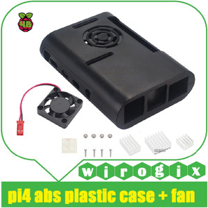 Raspberry Pi 4 - Plastic Fan Case v1