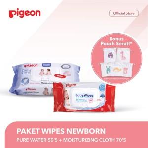 PIGEON Paket Wipes Newborn