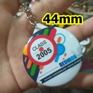 Souvenir PIN Gantungan Kunci 44mm acara seminar event murah