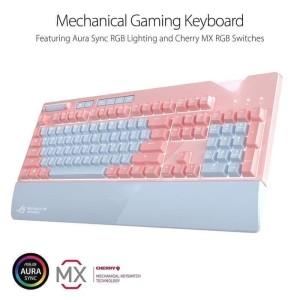 Asus Gaming Gear Keyboard Mechanical ROG Strix Flare - Pink Edition