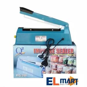 Q2 Impulse Sealer Pfs 200 Alat Pres Plastik 20 Cm Biru Tokopedia