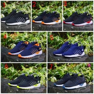 List Produk Sepatu Cowo Adidas Neo Running Hitam Biru Import Vietnam ... 514265fb1e