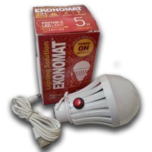 Lampu LED Portable / Lampu Emergency Portabel Ekonomat Porta 5W