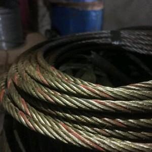 Kawat Seling Baja Ukuran 6 Mm 6 X 37 Iwrc Made In China Harga Per Meter Tokopedia