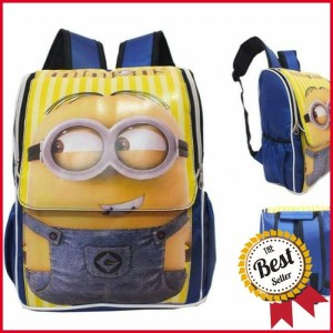 Jual Tas Anak PaudTK Sekolah Karakter Minion Ransel Backpack Anak Kecil