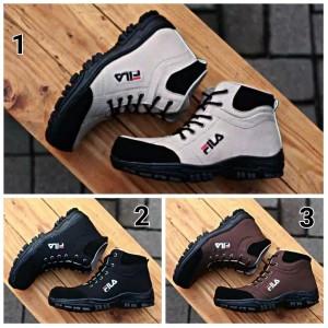 Sepatu Fila Boots Safety Tokopedia