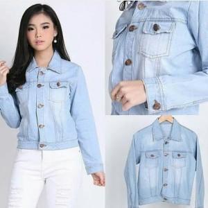 Jacket Jeans Cewe