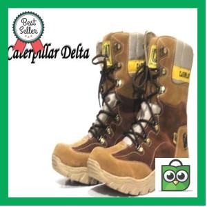 Jual KUALITAS SUPER Fashion Pria   Sepatu Boot   Caterpillar Delta Safety a0e741bfe9