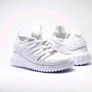 Sepatu Anak Adidas Fulk White Tubular Alphabonche Kids 30 35 37 40 Sepatu Olahraga Tokopedia