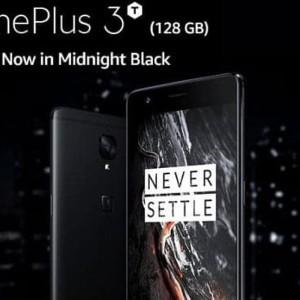 Oneplus 3t 128gb Ram 6gb Midnight Black Limited Edition A3010 New Bnib Ori Tokopedia