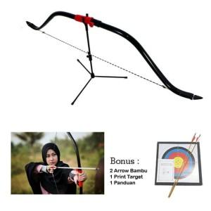 Panah Busur Horse Bow full Rucika 35 Lbs Mantap
