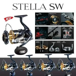 Reel Shimano Stella SW 8000PG - New Stella 2019 - Stella SW8000PG