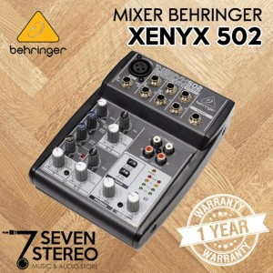Mixer Behringer Xenyx 502 Harga Murah Tokopedia