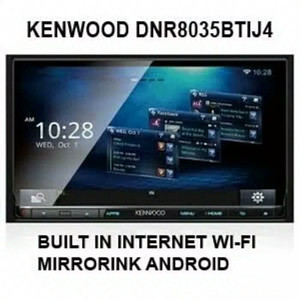 Head Unit Double Din Kenwood DNR-8035BT IJ4