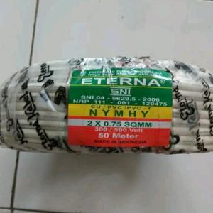 Kabel Cable Listrik Eterna Tembaga 3 Kawat Nym 3 X 1 5 3 1 5 Harga Per Meter Tokopedia