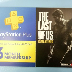 "PS+ 3BULAN & GAME DIGITAL ""THE LAST OF US"" REGION 3 ASIA"