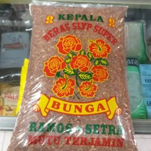 beras merah soso cap kembang bunga 5kg (gojek/grab)