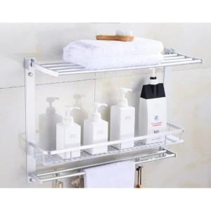 Rak sabun Gantungan handuk Baju Kamar mandi Aluminium toilet rack 270