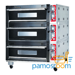 Mesin Oven Gas 3 Deck 6 Trays WTR-60H / WTR 60H GAS LUXURY