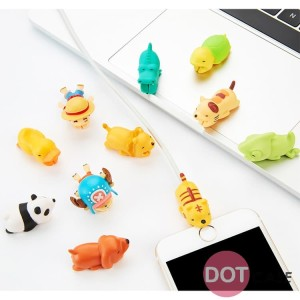 Cable Bite Motif 4D Cute kable Protector Cable Saver
