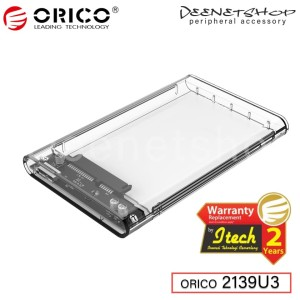 ORICO 2139U3 - Transparent 2.5 inch SATA USB 3.0 Enclosure