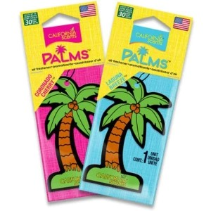 CALIFORNIA SCENTS PALM TREES / PARFUM MOBIL CALIFORNIA SCENTS PALM