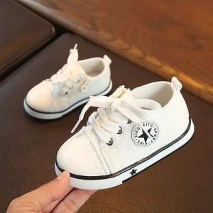 Sepatu putih / Sepatu bayi / sneaker bayi /prewalker bayi