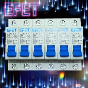 MCB Domae EFET 1 Phase (6A 10A 16A 20A 25A 32A)SNI / IEC