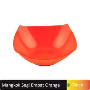 Igi Glori Melamine Mangkok Makan Miring 7 Inch Melamin G4770 Isi 6pcs Merah Tokopedia