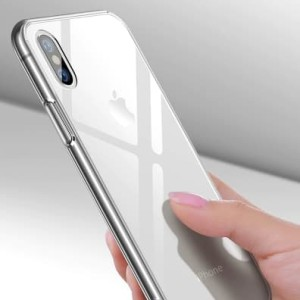 Iphone 6 6+ 7 8 7+ 8+ X XS XR XS Max Crystal Clear Glass Case