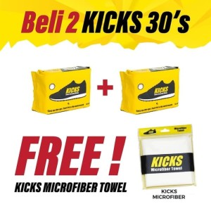 Tissue Kicks 30 lbr SPECIAL PACKAGE tisu kickswipes isi 30 lbr KHUSUS