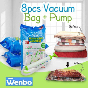 Vacuum Bag Compression Bag (Kantong Kompres) FREE POMPA