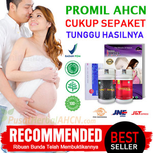 Paket AHCN Obat Herbal Kesuburan Pria Wanita supaya bisa Hamil