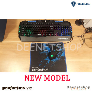 Rexus Warfaction VR1 Combo Professional Gaming Mouse & Keyboard