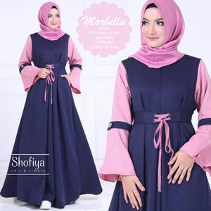 Baju Gamis Wanita Baju Gamis Syari Baju Dress Murah Gamis Terbaru MD1