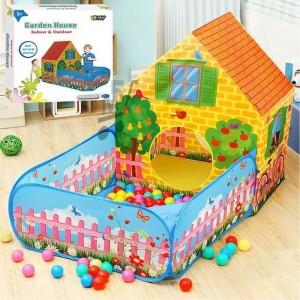 Mainan Tenda Anak Playhouse Garden Jumbo Tokopedia