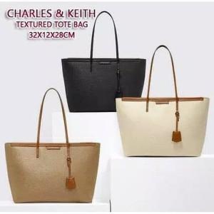 Tas CK Original Tas CNK Textured Ori Impor Tote Bag Handbag Original