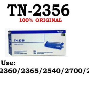 BROTHER TN 2356 ORIGINAL High Capacity 2600 Pages TN-2356 RESMI